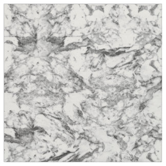 Elegant gray white modern marble texture patterns fabric