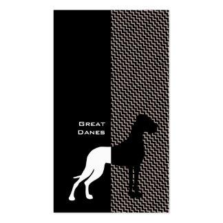 Elegant Great Dane Business Cards