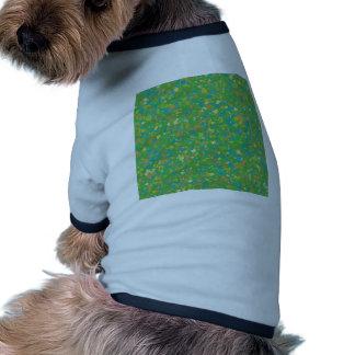 Elegant Green Confetti TEMPLATE Add text image fun Dog Clothes