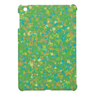Elegant Green Confetti TEMPLATE Add text image fun iPad Mini Case