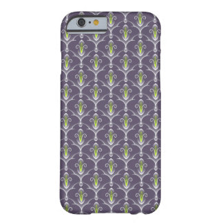Elegant green floral Pattern Case Barely There iPhone 6 Case