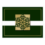 elegant green gold  Corporate Holiday Greeting s