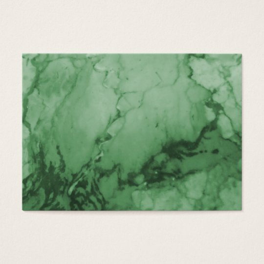Elegant | Green Marble Business Cards