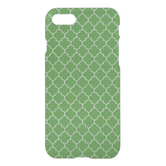 Elegant green moroccan Pattern iPhone 8/7 Case