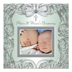 twins first communion cards invitations zazzle co uk