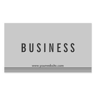 Elegant Grey Aerospace Engineer Business Card