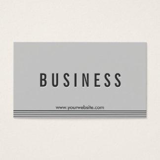 Elegant Grey Apps developer Business Card
