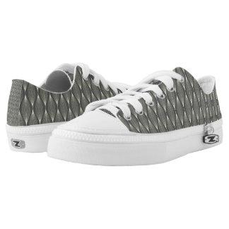 Elegant grey Low Top Shoes Printed Shoes