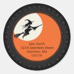 Elegant Halloween Stickers B
