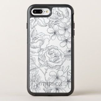 Elegant Hand-drawn Floral Design | Phone Case