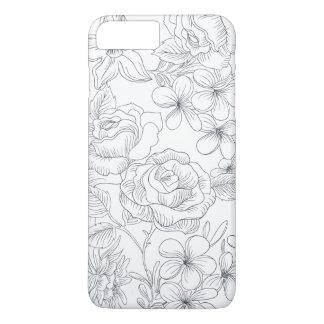 Elegant Hand-drawn Floral Design | Phone Case
