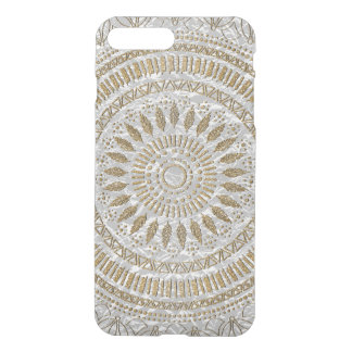 Elegant hand drawn tribal mandala design iPhone 7 plus case