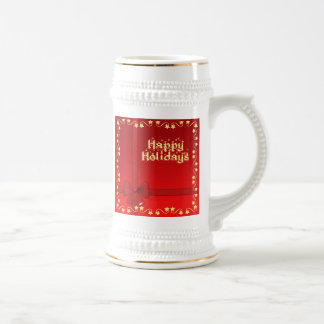 Elegant Happy Holidays Mug