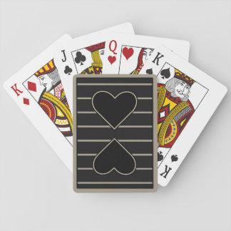 Elegant Heart to Heart 2 Poker Deck
