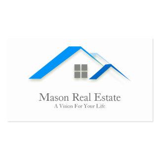 Elegant House Roof Real Estate - Business Card