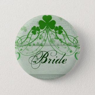 Elegant Irish 6 Cm Round Badge
