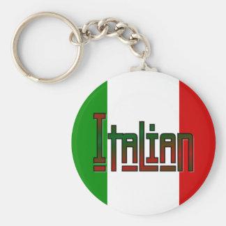 Elegant italian key ring