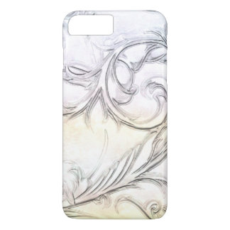 Elegant Ivory Simulated Carved Gemstone iPhone 7 Plus Case