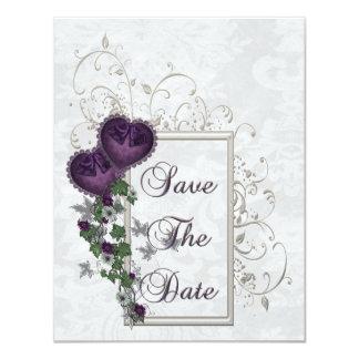 Elegant Ivy Wedding Suite 4.25x5.5 Paper Invitation Card
