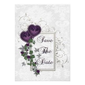 Elegant Ivy Wedding Suite Invites