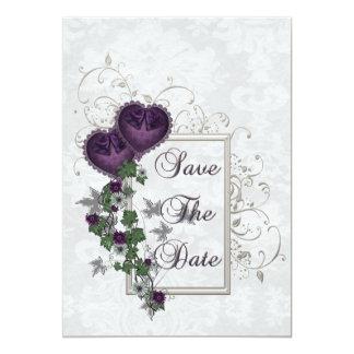 Elegant Ivy Wedding Suite 5x7 Paper Invitation Card