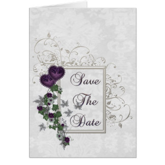Elegant Ivy Wedding Suite Save the Date Card