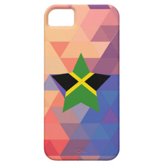 Elegant Jamaica flag heart Case For The iPhone 5