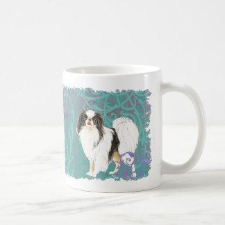 Elegant Japanese Chin Basic White Mug
