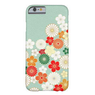 Elegant Japanese Floral Pattern iPhone 6 case