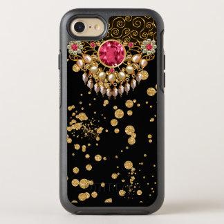 Elegant Jeweled Glitzy Design OtterBox Symmetry iPhone 8/7 Case
