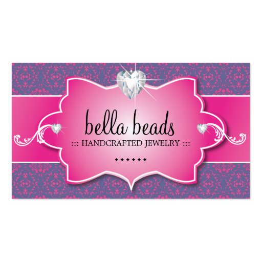 Elegant Jewellery Designer Business Cards