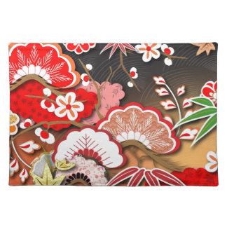 Elegant Kimono - Japanese Design Placemat