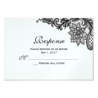 Elegant Lace Response Cards