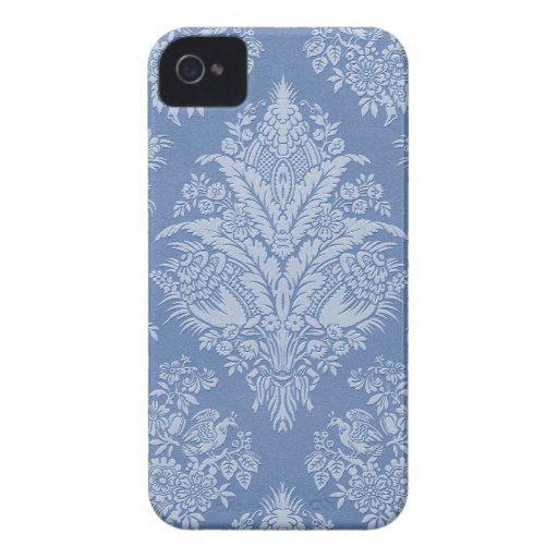 Elegant Lacy Blue iPhone 4 Cover