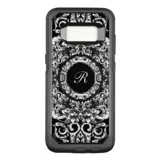 Elegant Ladies Monogram OtterBox Commuter Samsung Galaxy S8 Case