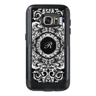 Elegant Ladies Monogram OtterBox Samsung Galaxy S7 Case