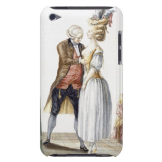 Elegant Lady at a Fitting with her Tailor, plate f iPod Touch Case