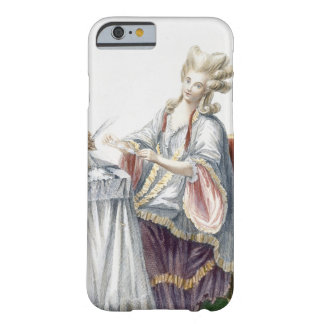 Elegant Lady at her Dressing Table, plate from 'Ga Barely There iPhone 6 Case