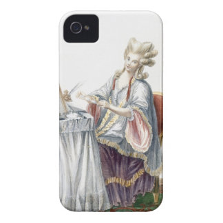 Elegant Lady at her Dressing Table, plate from 'Ga Case-Mate iPhone 4 Cases