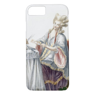 Elegant Lady at her Dressing Table, plate from 'Ga iPhone 8/7 Case