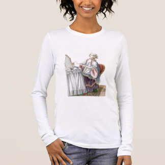 Elegant Lady at her Dressing Table, plate from 'Ga Long Sleeve T-Shirt