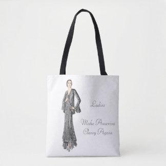 Elegant Lady - Ladies Make America Classy Again Tote Bag