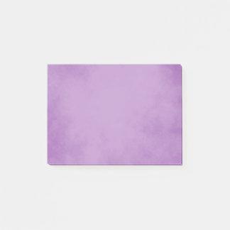 Elegant Lavender Parchment Design Post-it Notes