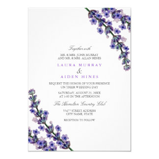 Perfect Elegant Lavender Wedding Invitation Photo Gallery