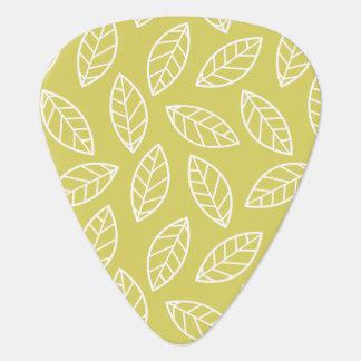 Elegant Leaf Guitar Player Pick