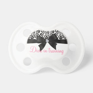 Elegant Leopard Bow & Diamond Diva in Training Dummy