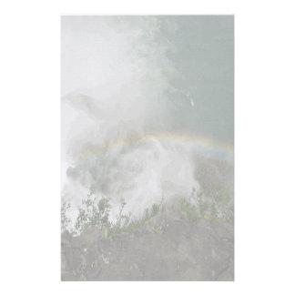 Elegant Letter Paper Stationery Rainbow Falls