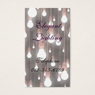 Elegant Lighting Business Card