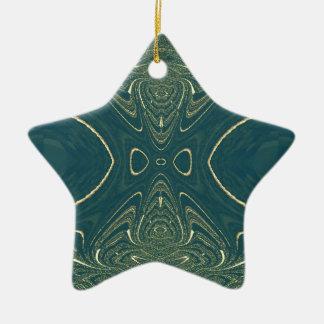 Elegant Ligth Teal Fashion Color Design Christmas Tree Ornaments