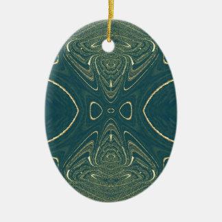 Elegant Ligth Teal Fashion Color Design Ornaments